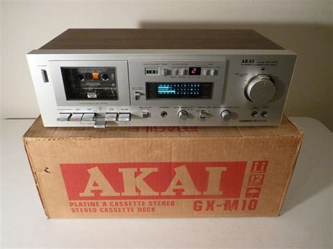 Vintage Cassette by Akai Gx M10 Restored Vintage Cassette Recorder With