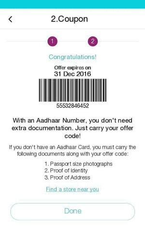 guide my jio app updated to generate a barcode on samsung z2 tizen experts