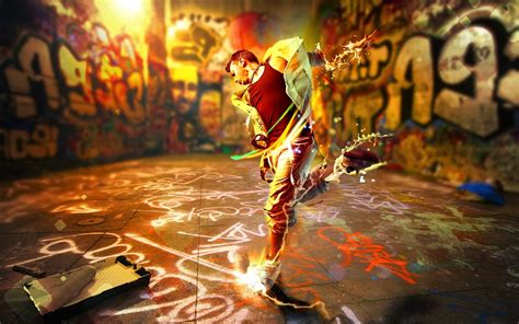 3d Street Art Wallpaper Wallpapersafari