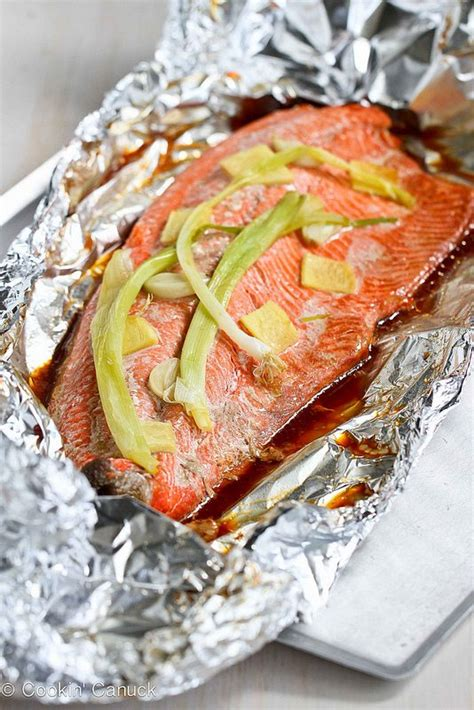 how do you grill salmon easy grilled salmon recipe in foil w ginger soy sauce