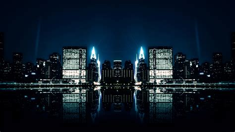 city night reflections wallpapers hd wallpapers id