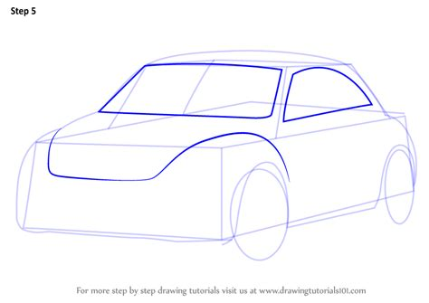 Step By Step How To Draw Volkswagen Beetle