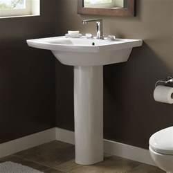 bathroom pedestal sinks ideas decorating a small bathroom abode
