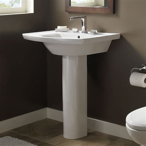 captivating pedestal sink bathroom design ideas with