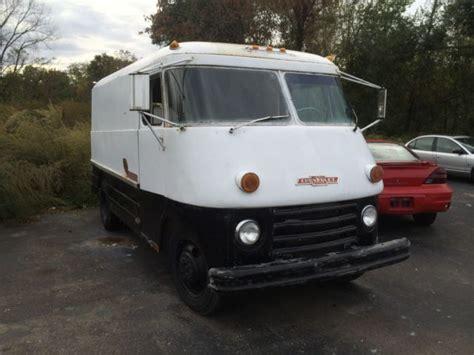 1965chevyp30stepvan  Vintage Step Vans Pinterest
