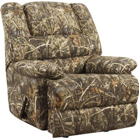 Camo Recliner Chair Walmart realtree camouflage deluxe recliner walmart