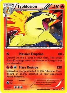 Typhlosion #20 BREAKthrough Pokemon X & Y Single Card on ...
