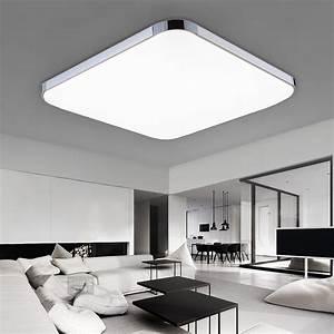 Deckenlampe Küche Led : 24w led deckenleuchte badleuchte k che deckenlampe dimmbar wohnzimmer ip44 ebay ~ Orissabook.com Haus und Dekorationen