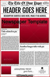 create your own newspaper template - points to note in a newspaper template