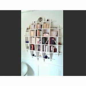 Bibliothèque Murale Design : biblioth que murale retento ronde mithka design ~ Teatrodelosmanantiales.com Idées de Décoration