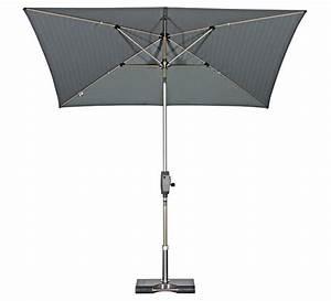 knirps balkon sonnenschirm oasis automatic 230x150cm art With französischer balkon mit sonnenschirm mit kurbel und knicker