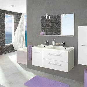 Meuble Salle De Bain Peu Profond : meuble salle de bain faible profondeur leroy merlin ~ Edinachiropracticcenter.com Idées de Décoration