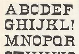 Type Of Letters Writing 80 Free Wood Type Alphabets Webdesigner Depot