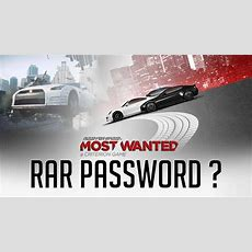 Need For Speed Most Wanted (2012)  Reloaded Rar Password ? 2018 Youtube