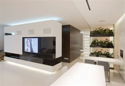 Minimalist Apartment Interior Design With A Luxurious Touch