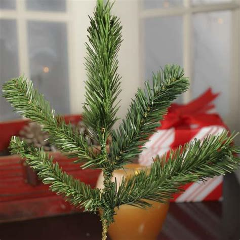 artificial pine greenery pick holiday florals