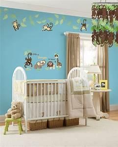 Babyzimmer Mädchen Deko : 15 einrichtungsideen f r dschungel kinderzimmer und safari deko ~ Sanjose-hotels-ca.com Haus und Dekorationen