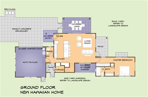 home blue prints hawaiian home floor plans island home plans hawaiian