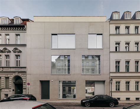 david chipperfield berlin puristic facades in exposed concrete chipperfield s