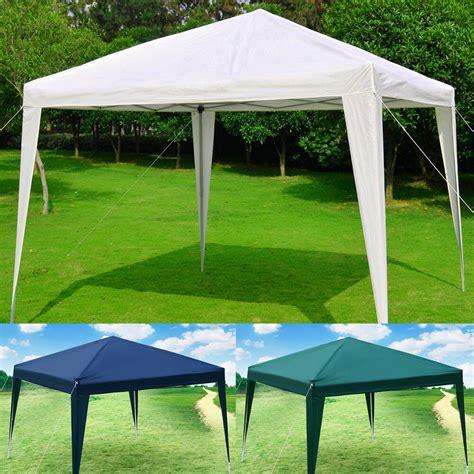 Folding Gazebo 10 X10 Eazy Pop Up Canopy Tent Gazebo Wedding