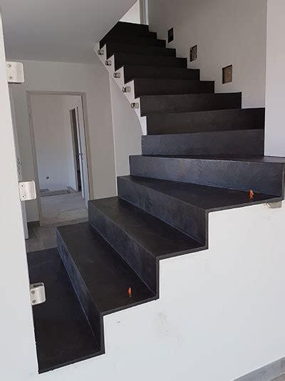 escalier colimaon beton prix escaliers en b 233 ton cir 233 noir terre de caprices