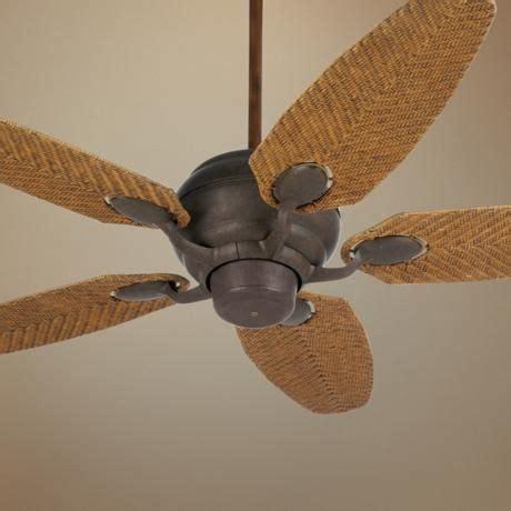 rattan ceiling fans with lights 52 quot casa optima honey rattan blades ceiling fan
