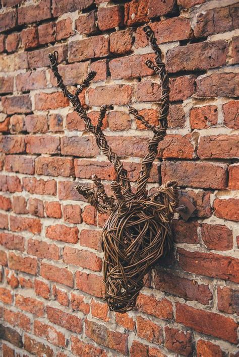 juliette hamilton willow antlers willow weaving wicker