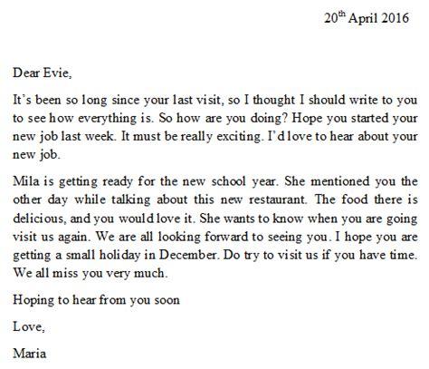 write  letter   friend   write letter