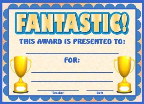 achievement award certificates teaching elementary
