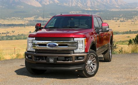2017 Ford Super Duty Available With A Massive