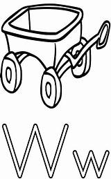 Wagon Coloring Alphabet Letter Wheel Pages Worksheets Print Printable Education Features Getcolorings Wpclipart Well Formats Webp sketch template