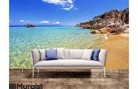Greece Beach Landscape Wall Mural