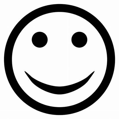 Clipart Face Svg Smile Simple Smiley Smille