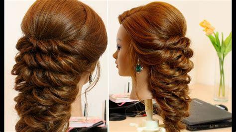 easy hairstyle  long hair tutorial youtube