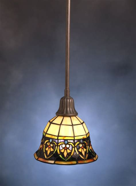 stained glass pendant light basement ideas