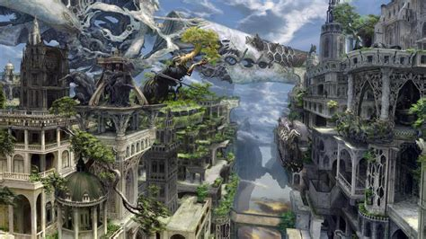 Fantasy City Hd Wallpapers, Desktop Backgrounds, Mobile