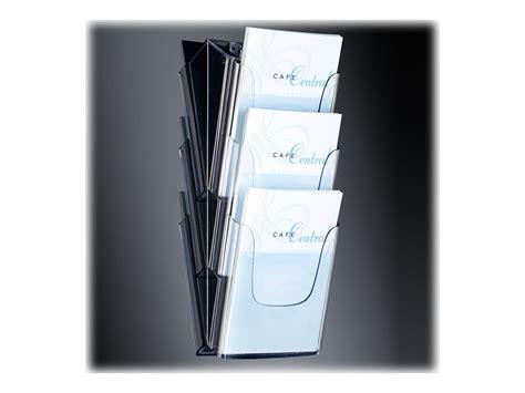porte document pour bureau sigel porte document montable au mur 3 pochettes