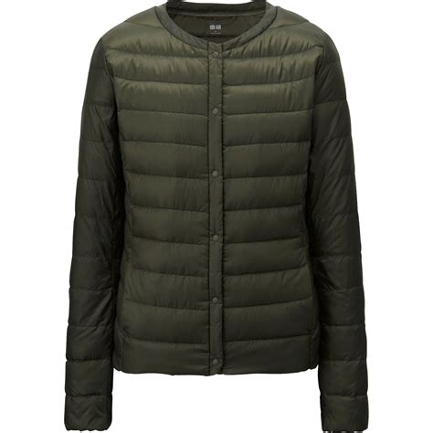 ultra light jacket s uniqlo ultra light compact jacket in green