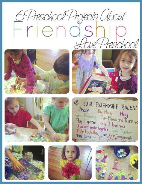6 friendship projects for preschoolers preschool 123 | 632a06c4710e0eafdd9c1568b731c26e
