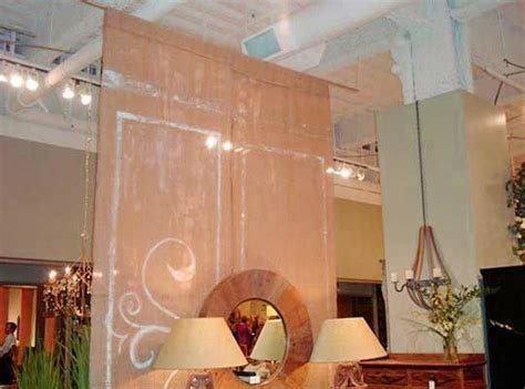 Panel Curtain Room Divider Ideas by How To Build A Hanging Room Divider Panels Ikea Spotlats