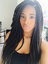 Black People Hairstyles Braids Long Hair