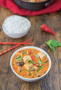 [Recipe] Meat free Thai Red Curry from One Ingredient Chef