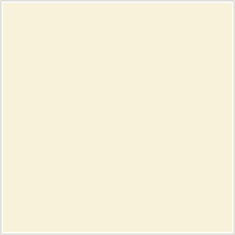 creme color f8f2da hex color rgb 248 242 218 coconut