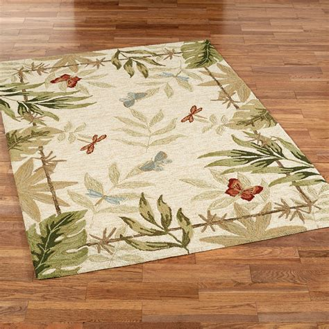 butterflies dragonflies indoor outdoor rugs
