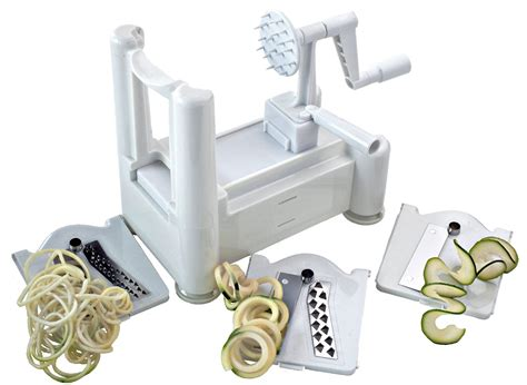 paderno cuisine spiral vegetable slicer spiralizer review paderno quisine spiral slicer
