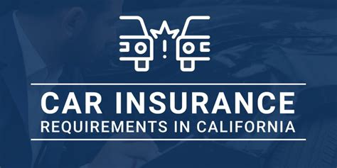 Be aware that you may attract a cancellation fee, so it's best to be upfront with any insurer of your requirements before taking out a policy. Car Insurance Requirements in California | Kuvara Law Firm