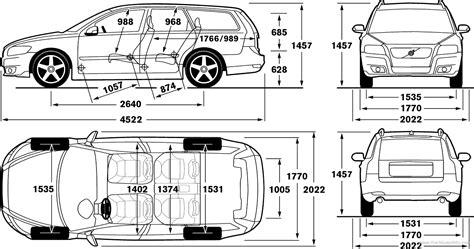 blueprints cars volvo volvo