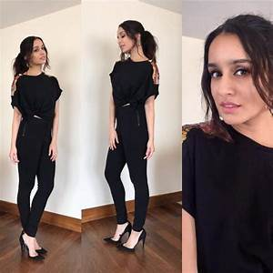 Haseena Parkar Shraddha Kapoor shows us how to style mini skirts in her promotional style ...