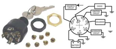 mercury ignition switch  position push  choke