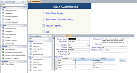 Microsoft Office Database Templates by Access Database Templates